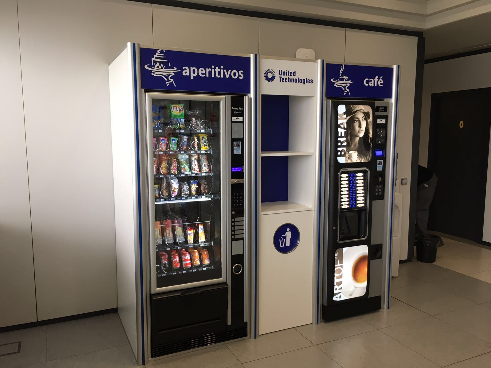 Vending Sierra Morena dispensador